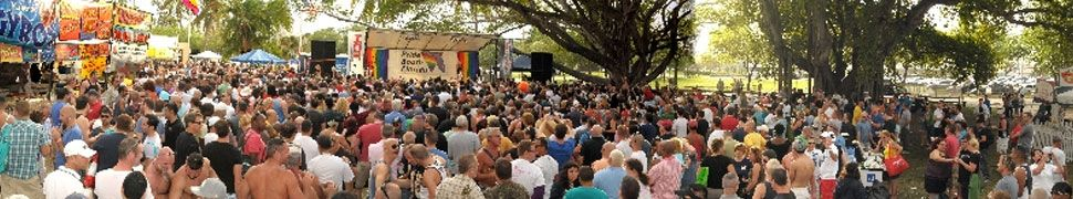 Pridefest South Florida header