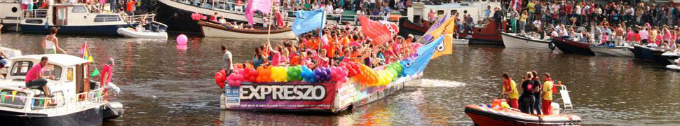 Amsterdam Gay Pride header