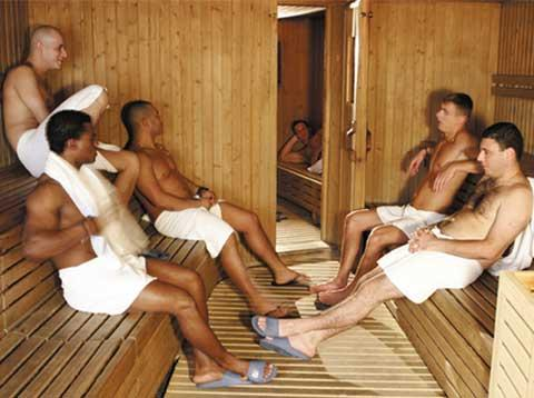 Bath gay guide house international sauna
