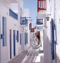 <b>Mykonos</b> day and night