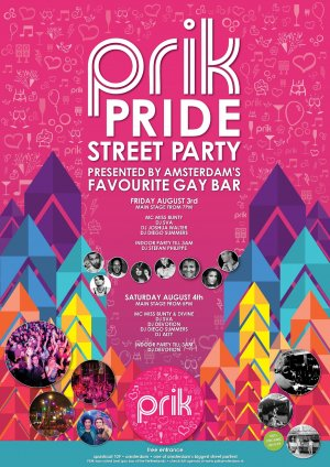 flyer Prik Pride Street Party 2021-08-06