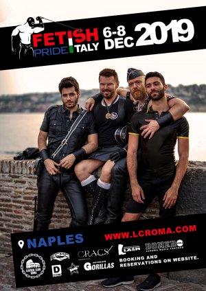 flyer Fetish Pride Italy 2019-12-06