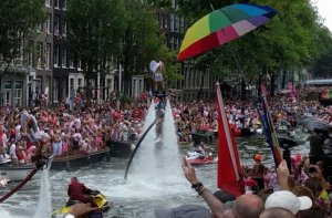 flyer Amsterdam Gay Pride 2021-07-31