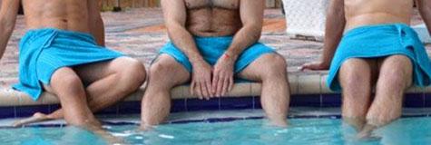 Club Aqua men only gay sauna Miami Downtown