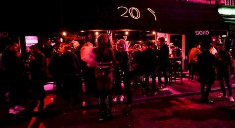 Soho gay bar Amsterdam
