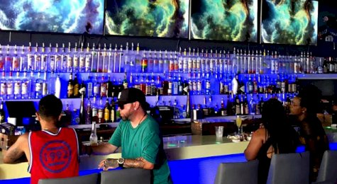 Palace gay bar Ocean Drive Miami SoBe
