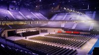 The venue for Eurovision Rotterdam Ahoy