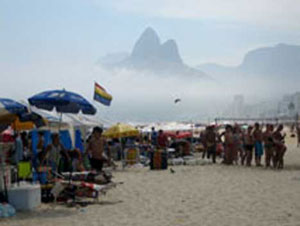 The Rio gay beach