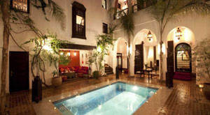 Riads and hotels