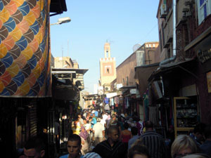Old town or New Marrakech