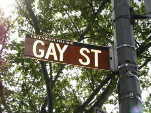 Gay map NYC / Manhattan